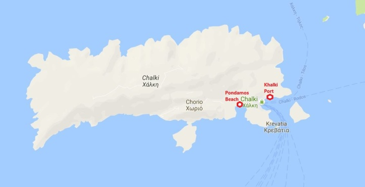 chalki map